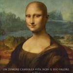 Mona Lisa sin cabello
