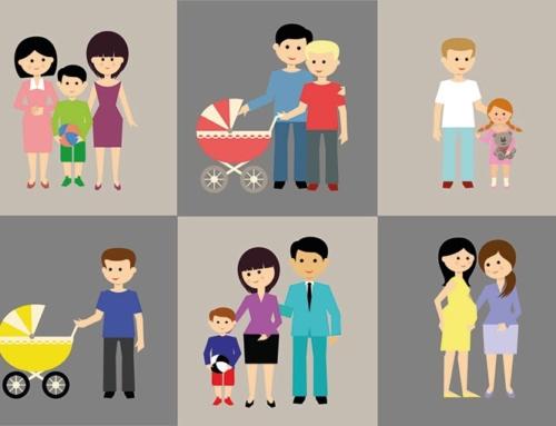 Diversidad familiar: los diferentes tipos de familia actuales