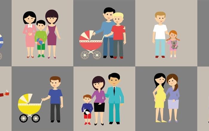 Diversidad familiar en la actualidad. Diferentes tipos de familia