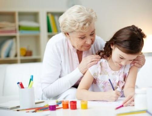 Los abuelos cuidadores de los nietos
